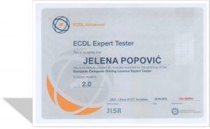 ecdl-expert-tester-skenirani-sertifikat-jelena-popovic